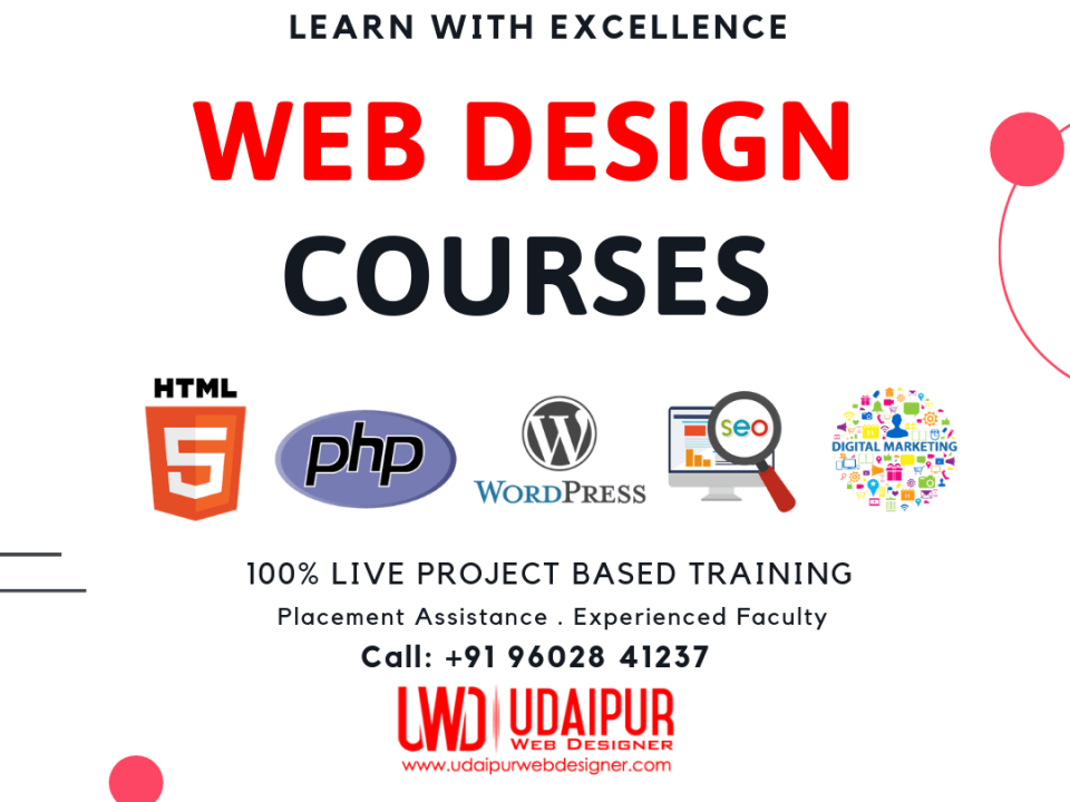 Web Design Courses in Udaipur