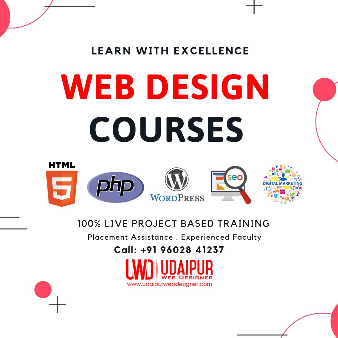 Web Design Courses in Udaipur