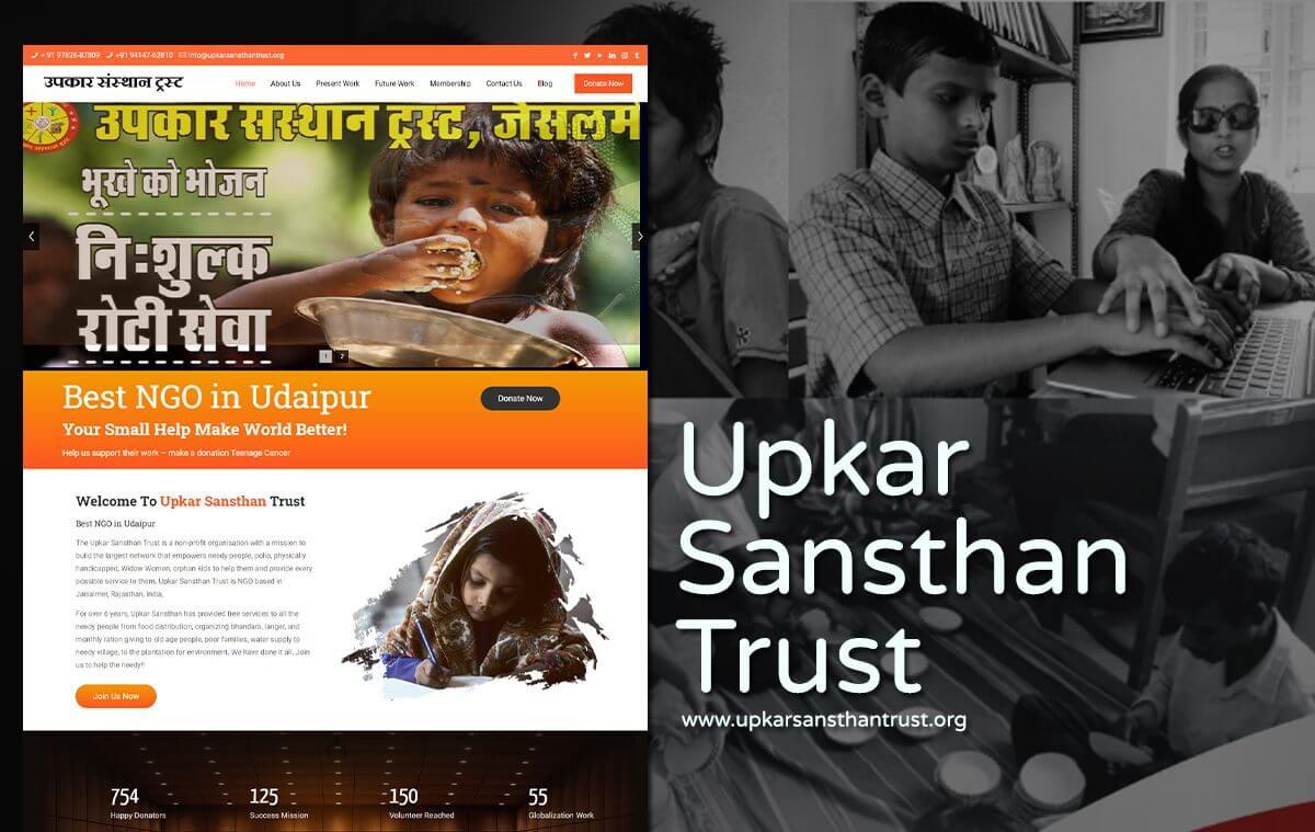 best ngo web design company