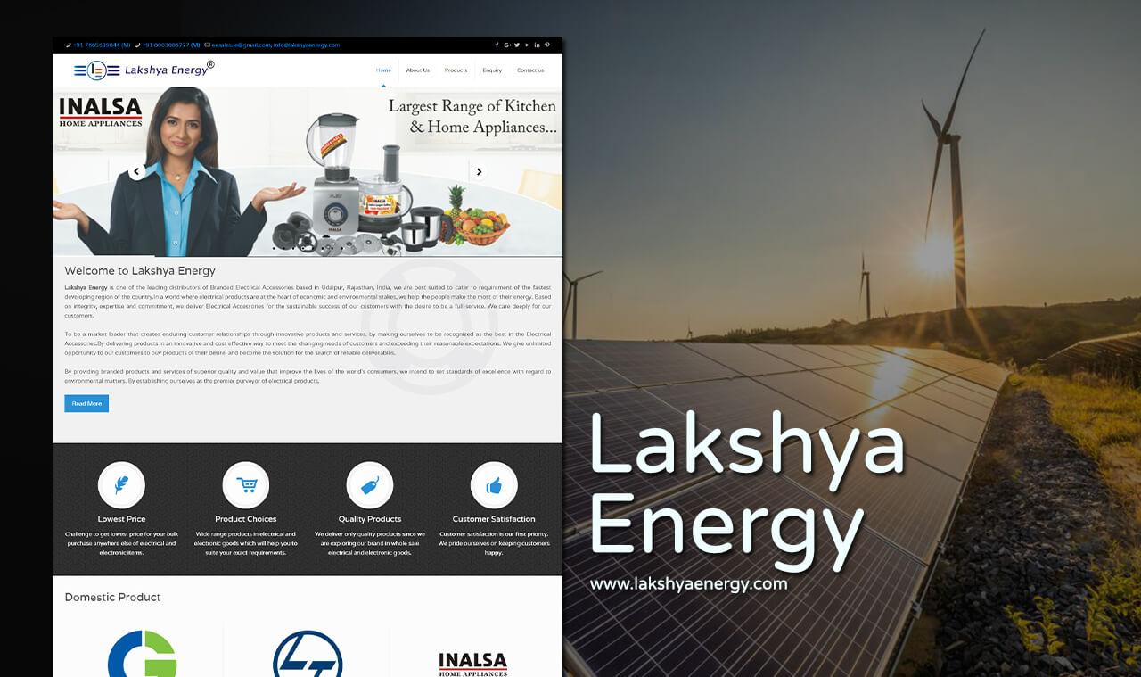electronics products web design