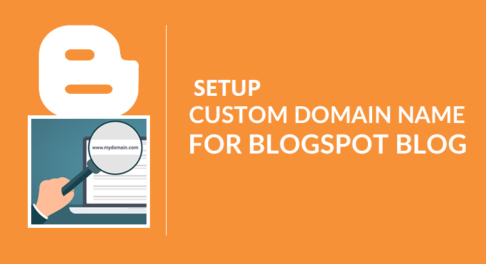 Custom Domain for your blogger