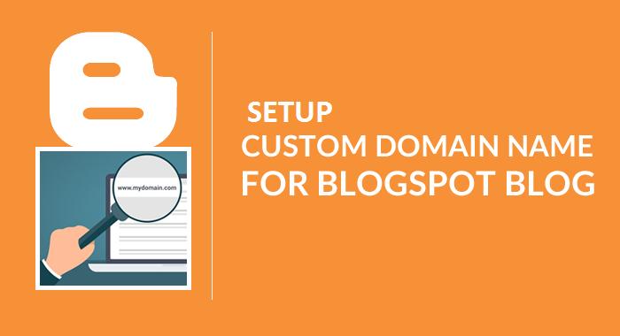 Custom Domain for your blogger
