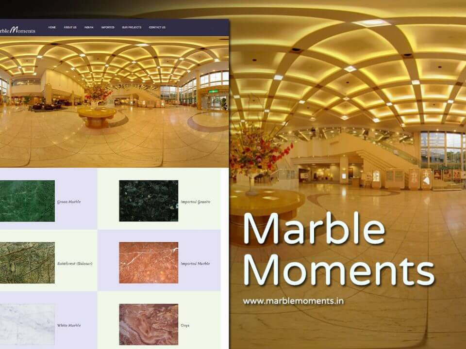 stone exporter website designer