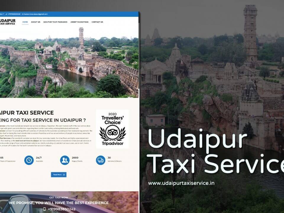taxi service web designer