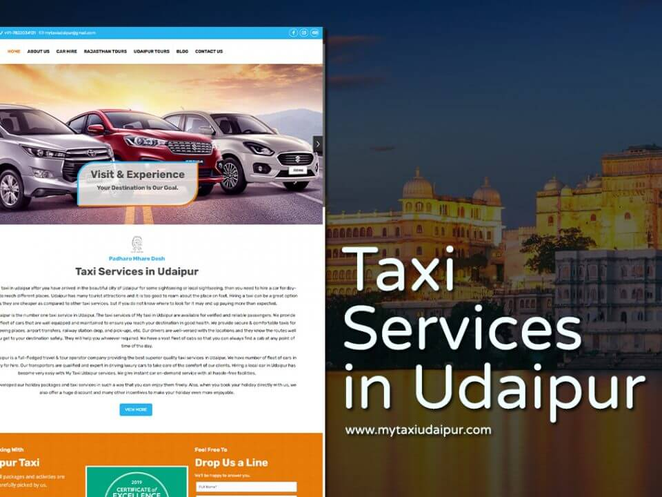 taxi web design company