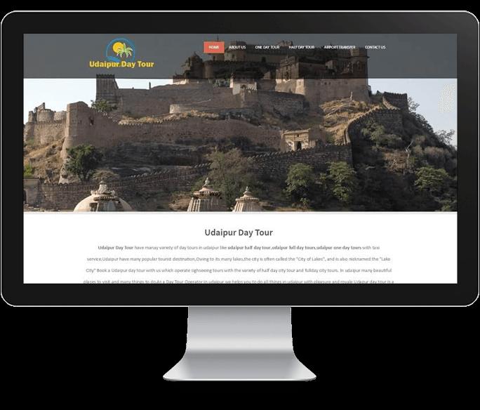 tour company website designer