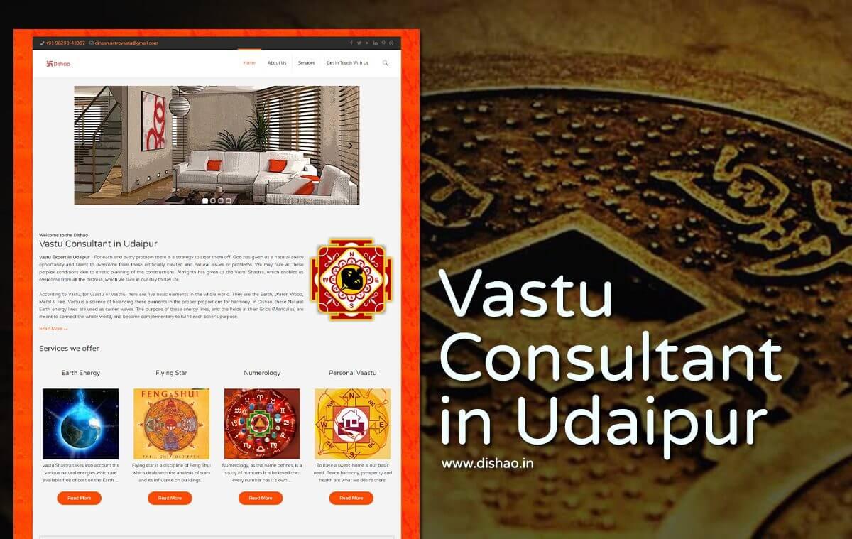 vastu consultant website design
