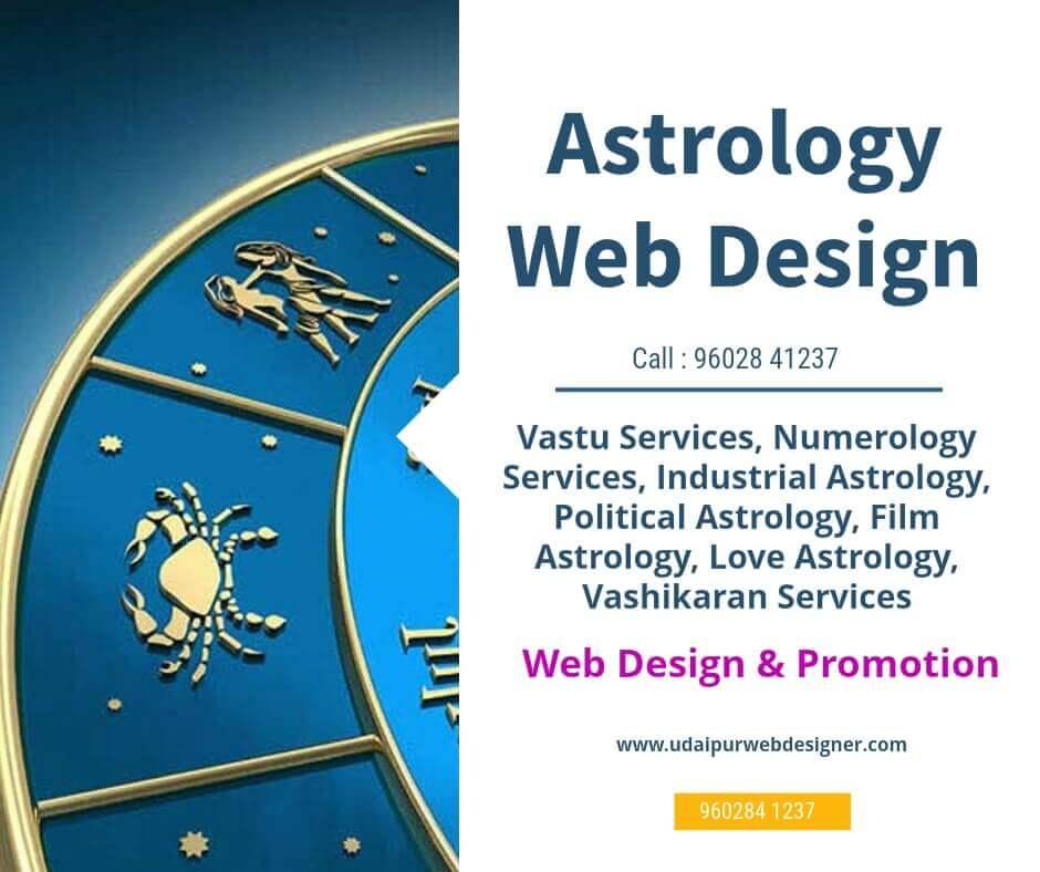 Astrology vastu website design