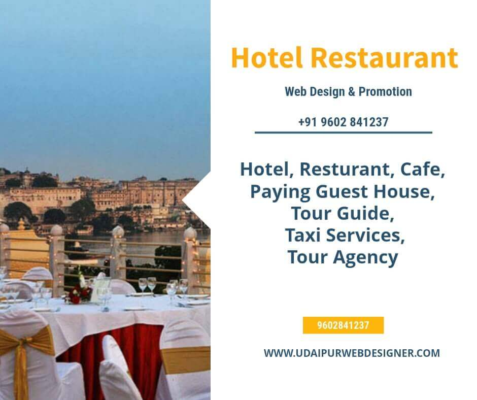 Hotel Restaurant website design