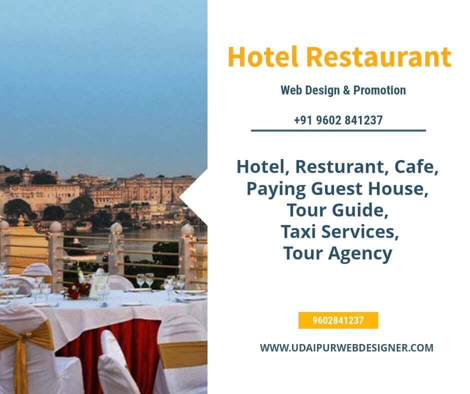 Hotel Restaurant website design