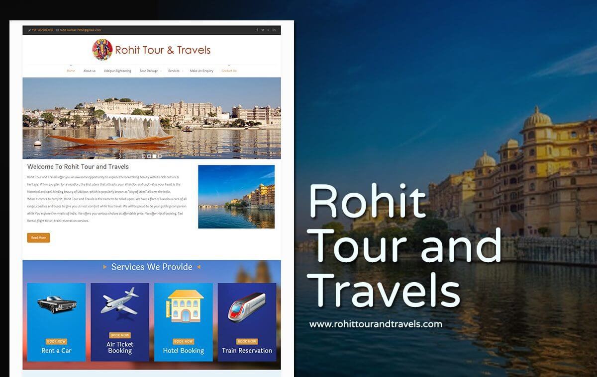 best travel agency web design