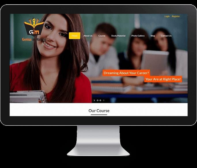 ca cs academy website designer