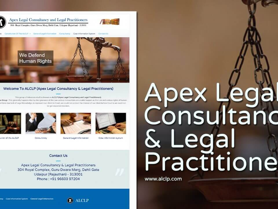 legal consultancy website design