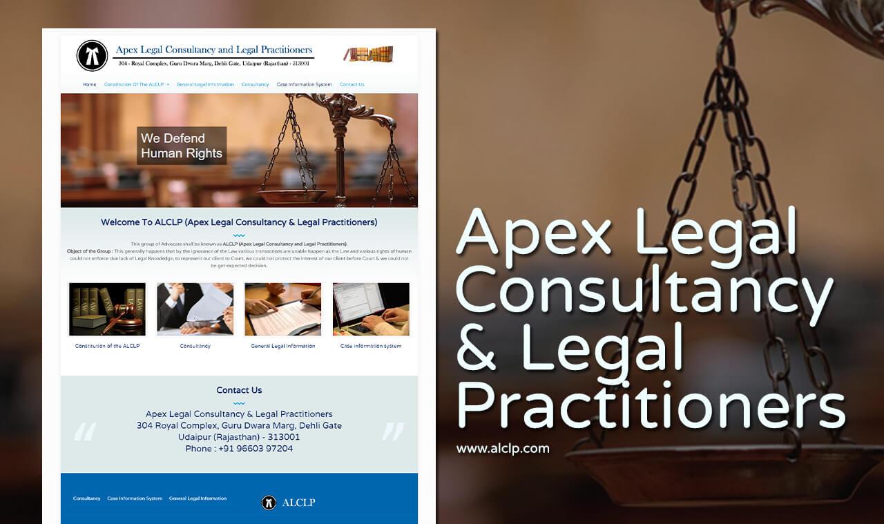 legal consultancy website design