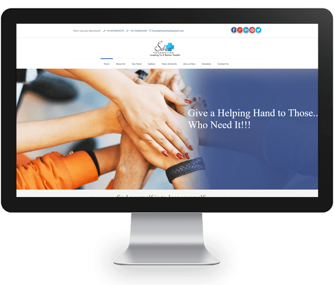 ngo non profit website design