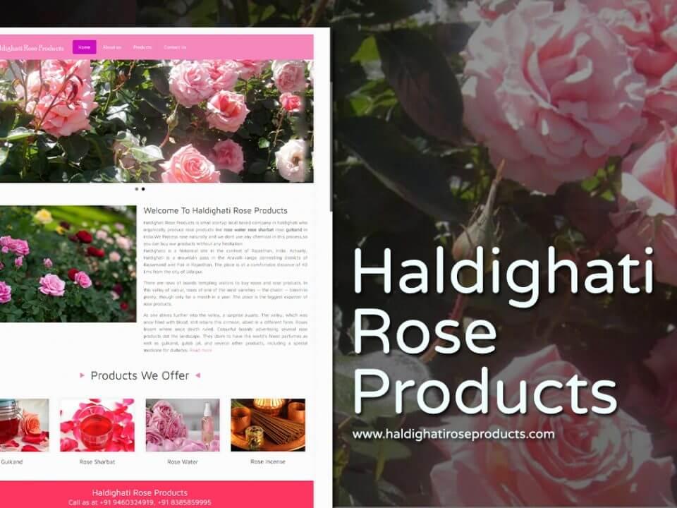 product listing website design