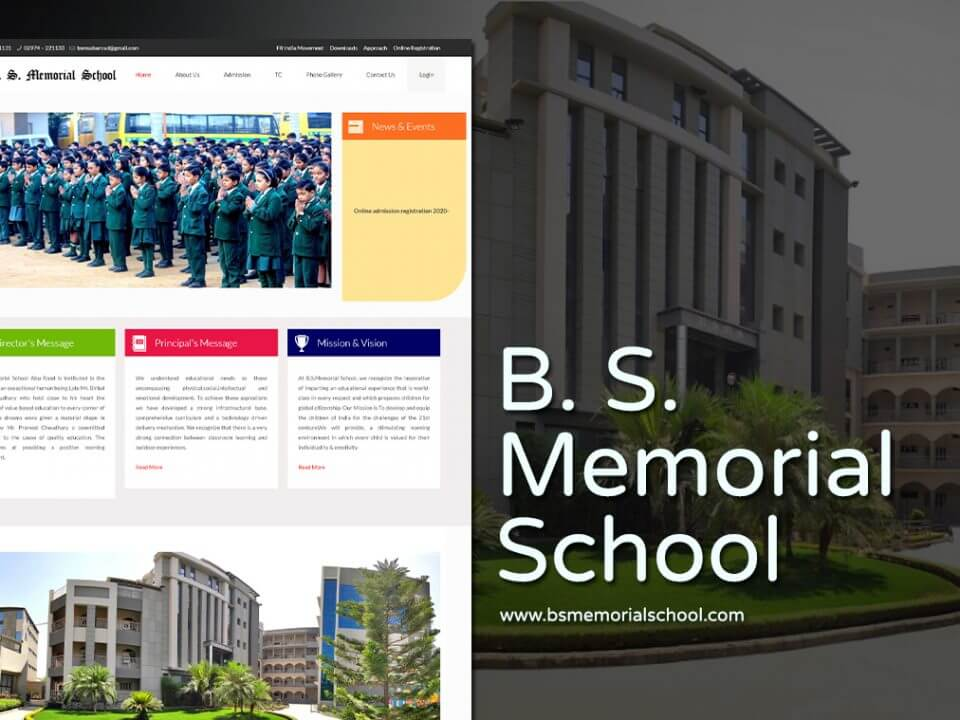 school web design company