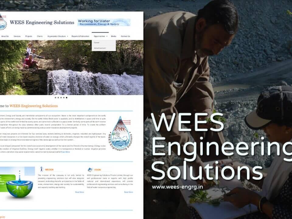 disaster management website design