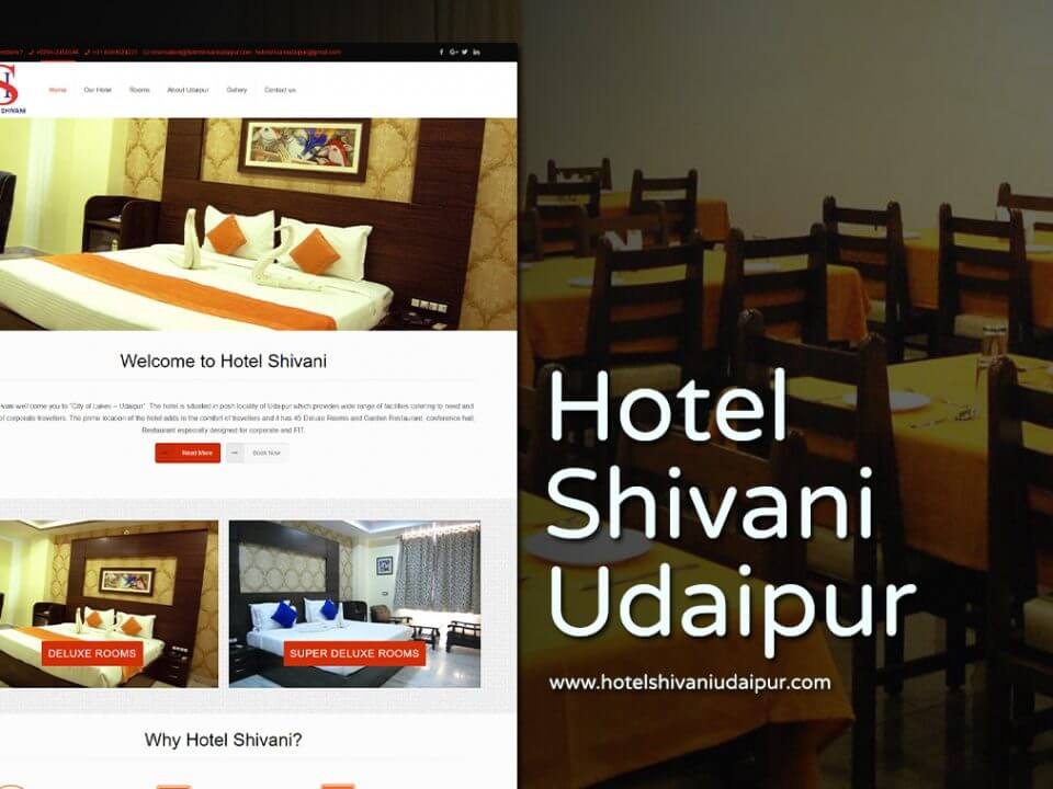 hotel website design company