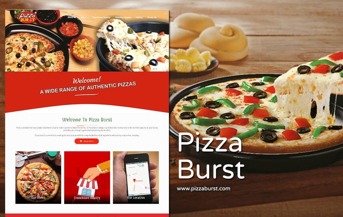 pizza website designer