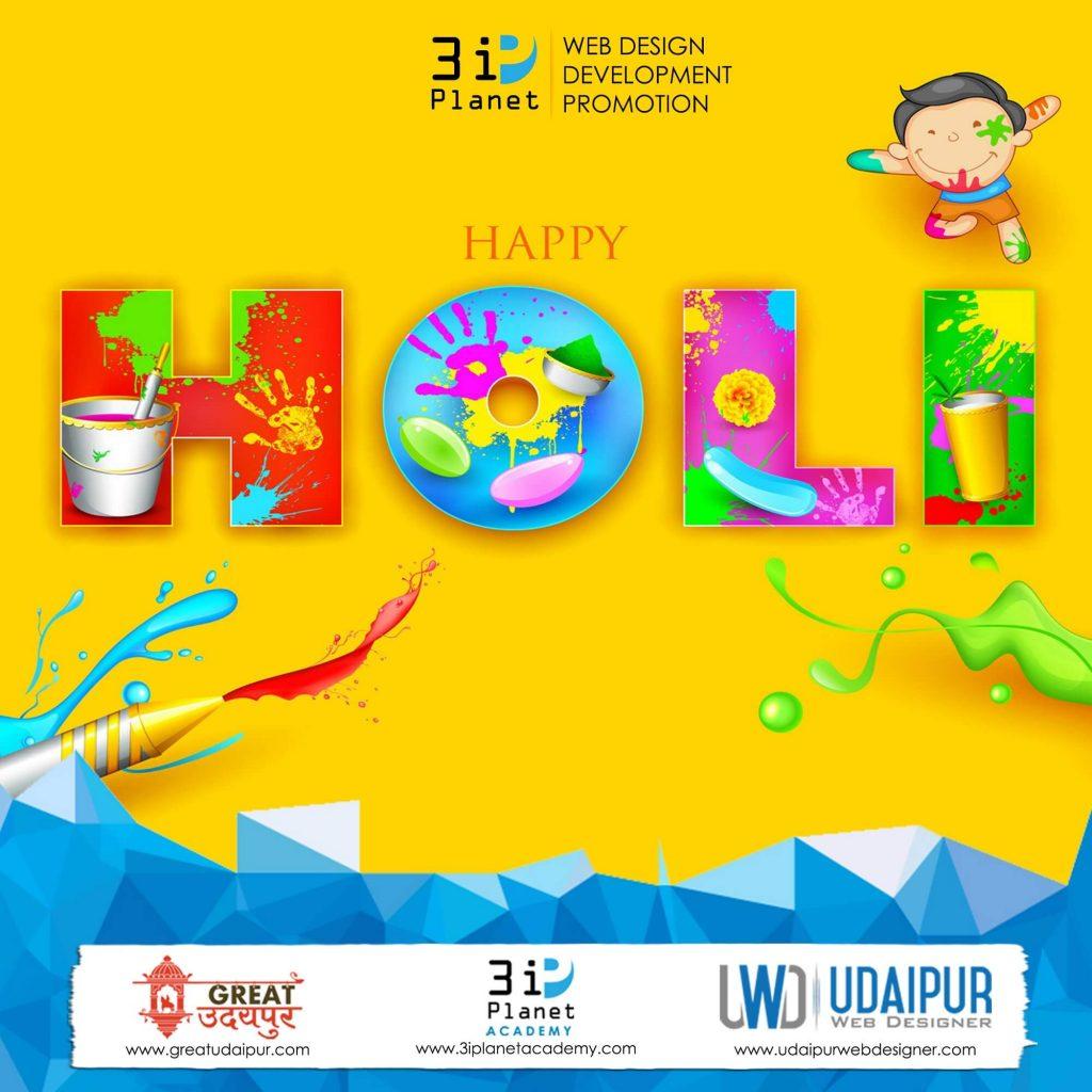 happy holi banner