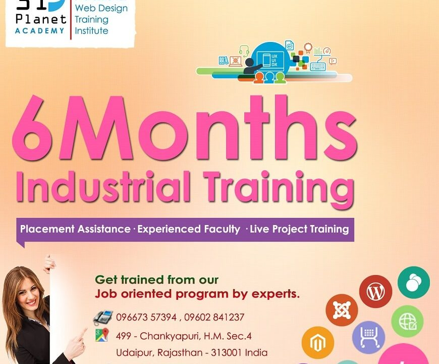 6 Months Industrial Training udaipur