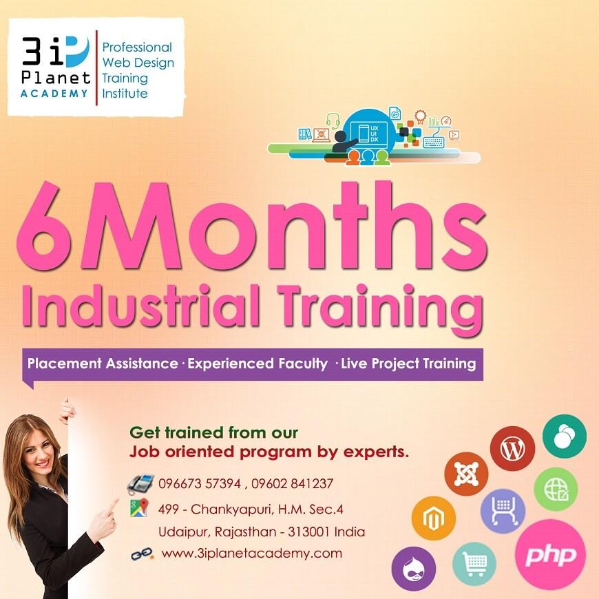6 Months Industrial Training udaipur