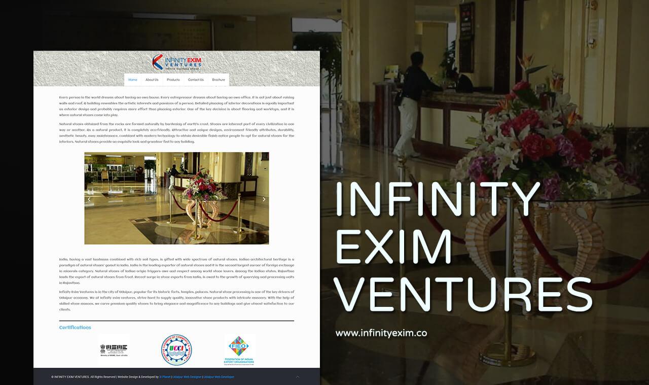 export company website design