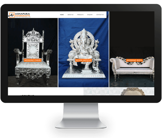 handicrafts website design
