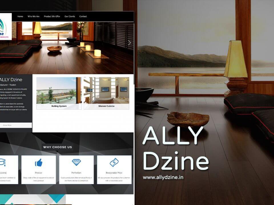 interior designer web design