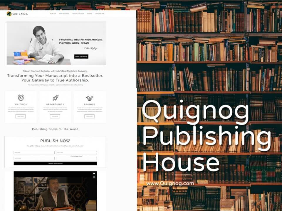 publishing-house-website-designer