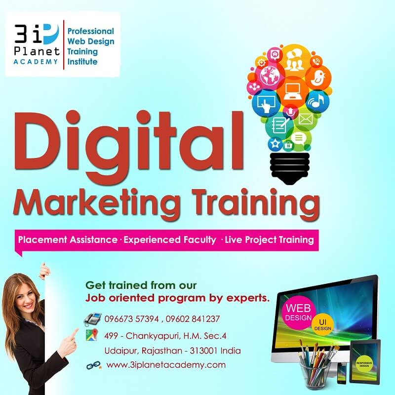 SEO, Digital Marketing Training in Udaipur