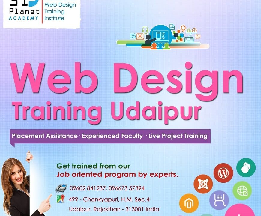 Web Designing Training in Udaipur