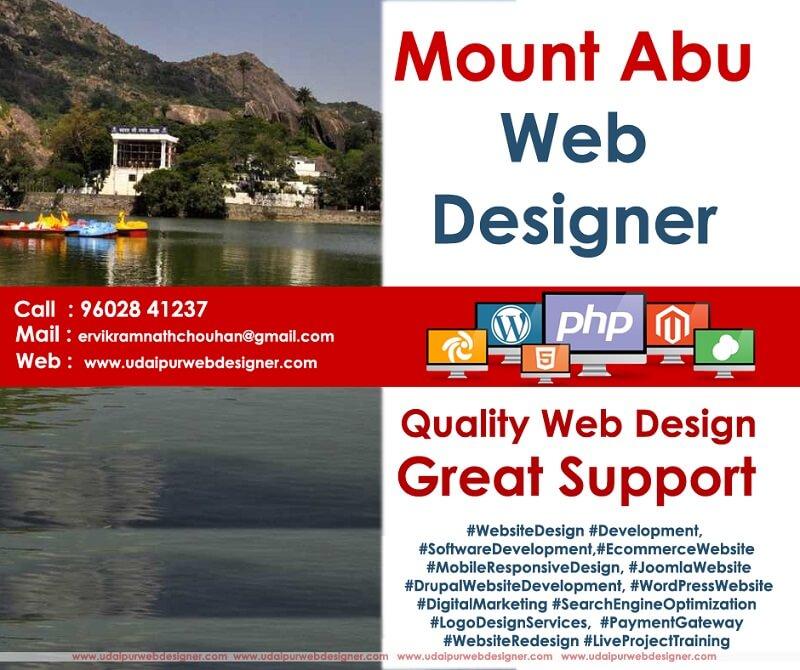 Web designer mount abu