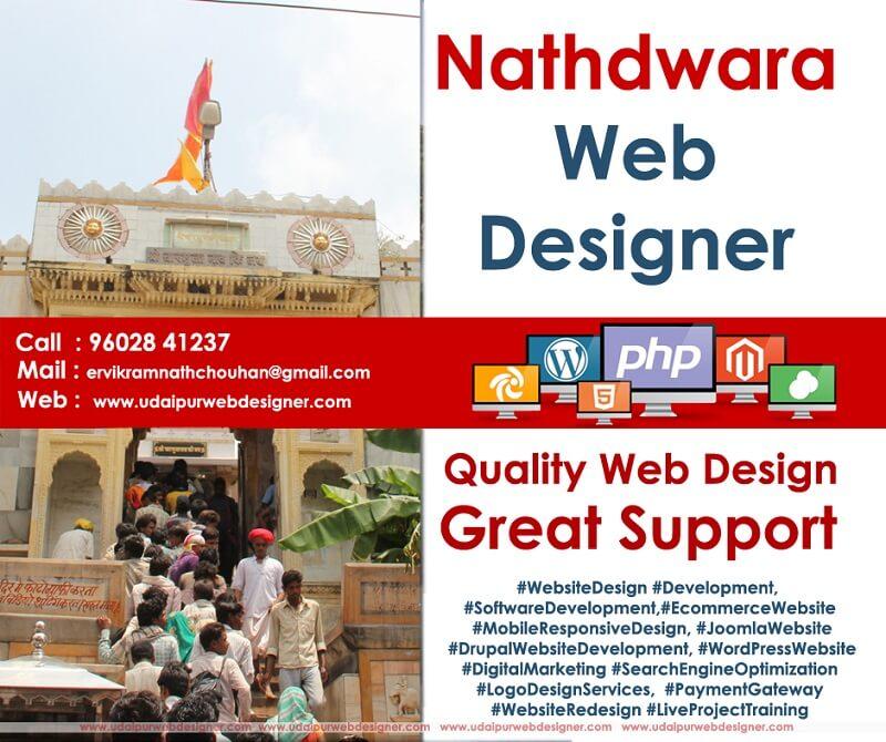 Web designer Nathdwara