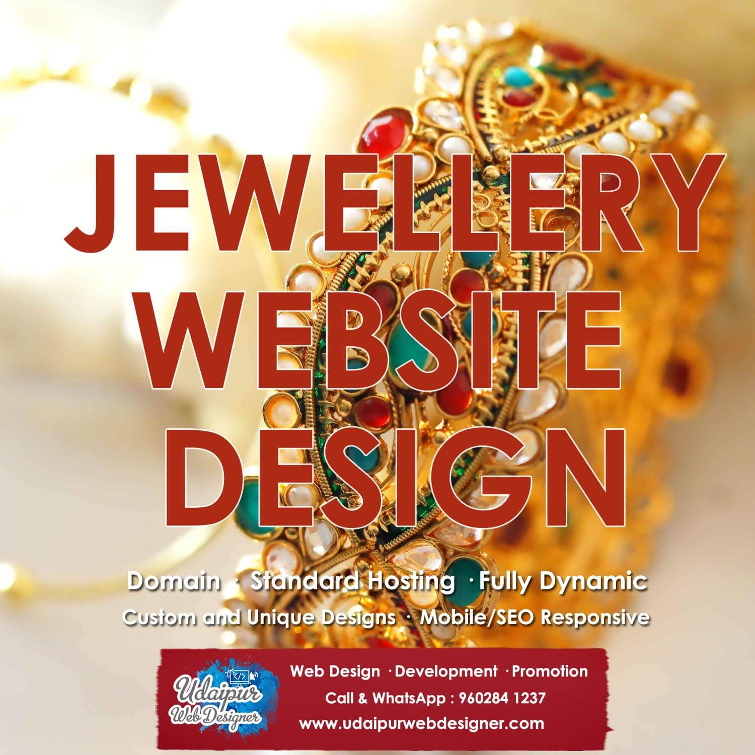 Jewellery Website Design SEO