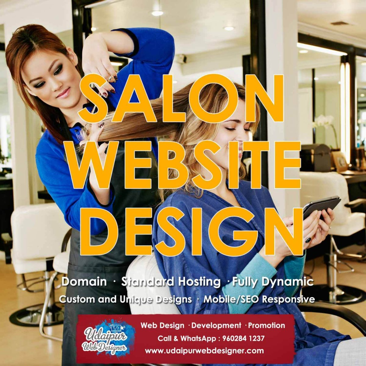 Salon Website Designer