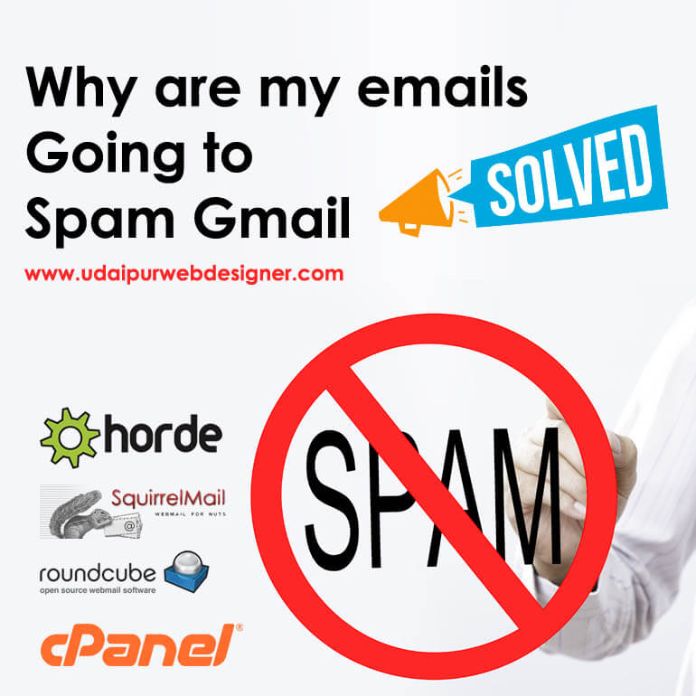 why are my emails going to spam gmail