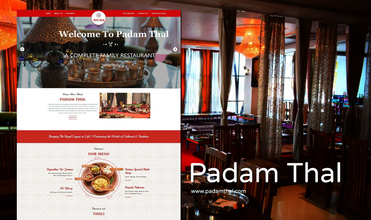 Website Designer for Restaurant