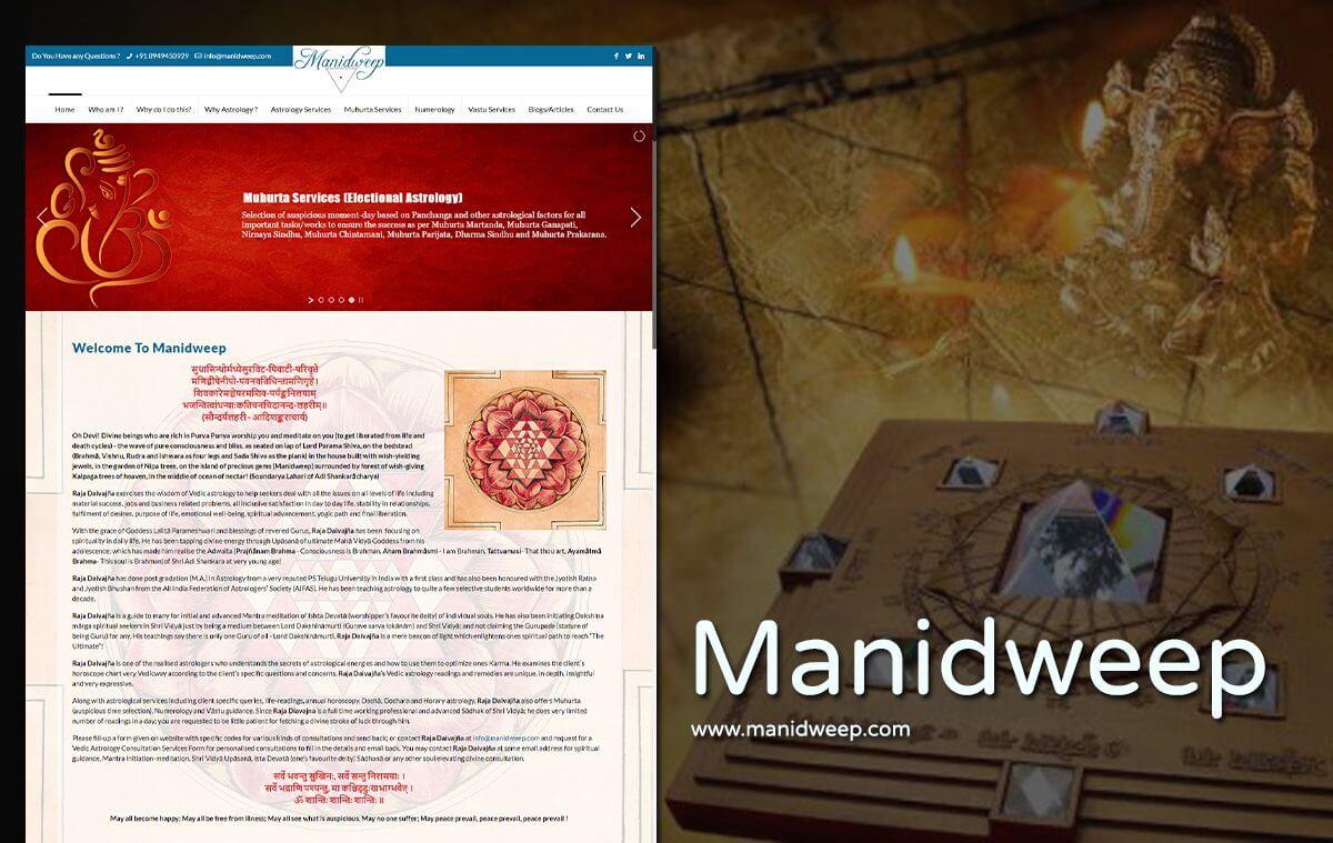 best astrologer website design