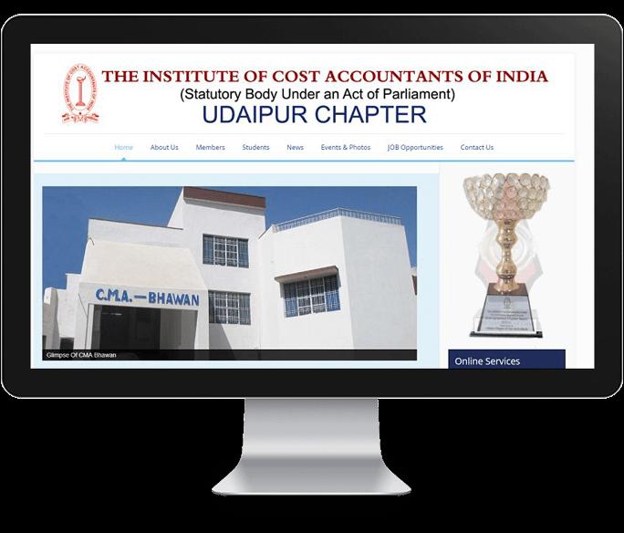 best institute website design