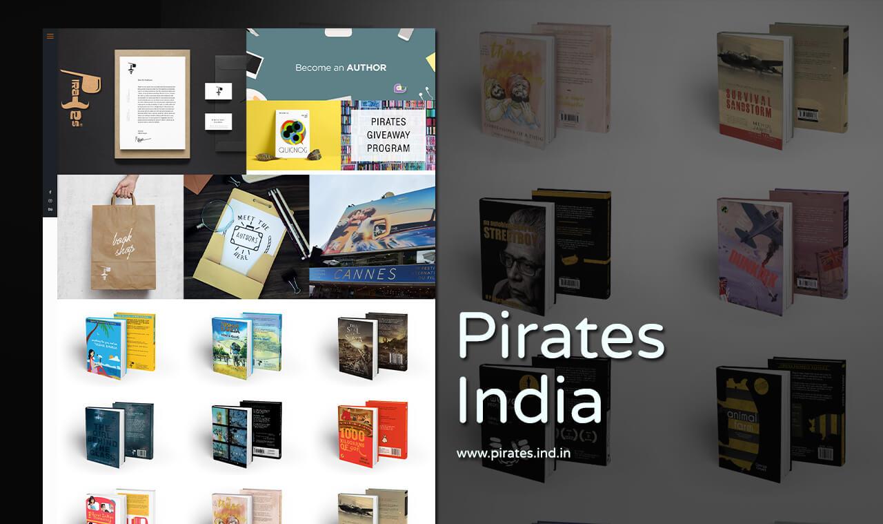 book author website designer