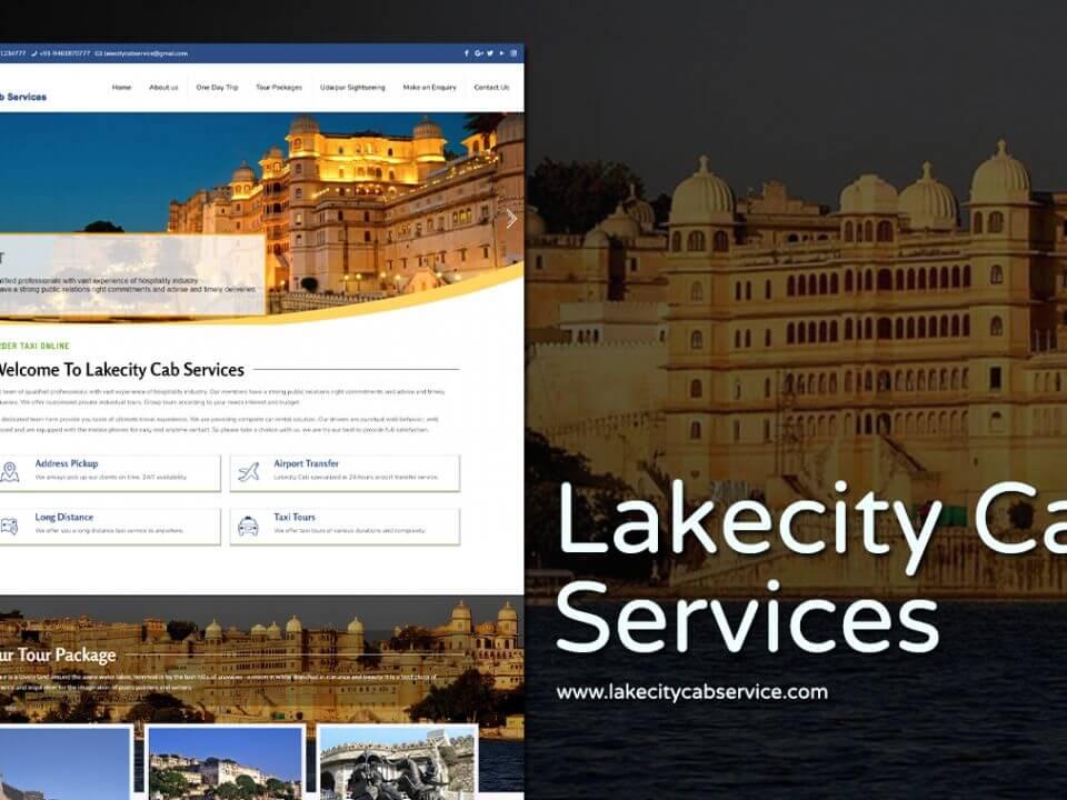 cab service website design