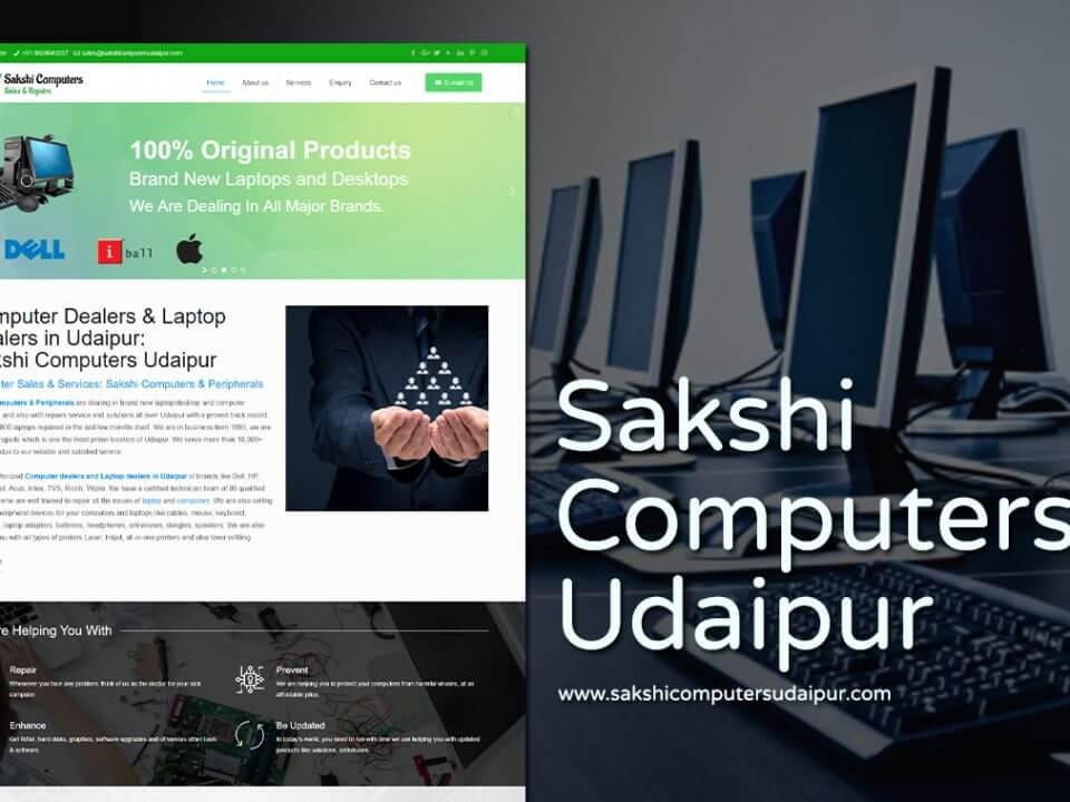 computer dealer web design
