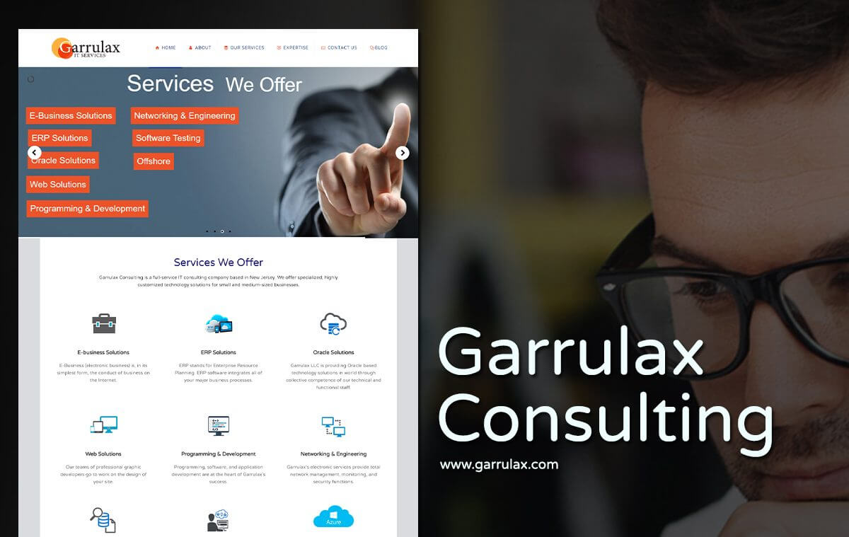 online business website design