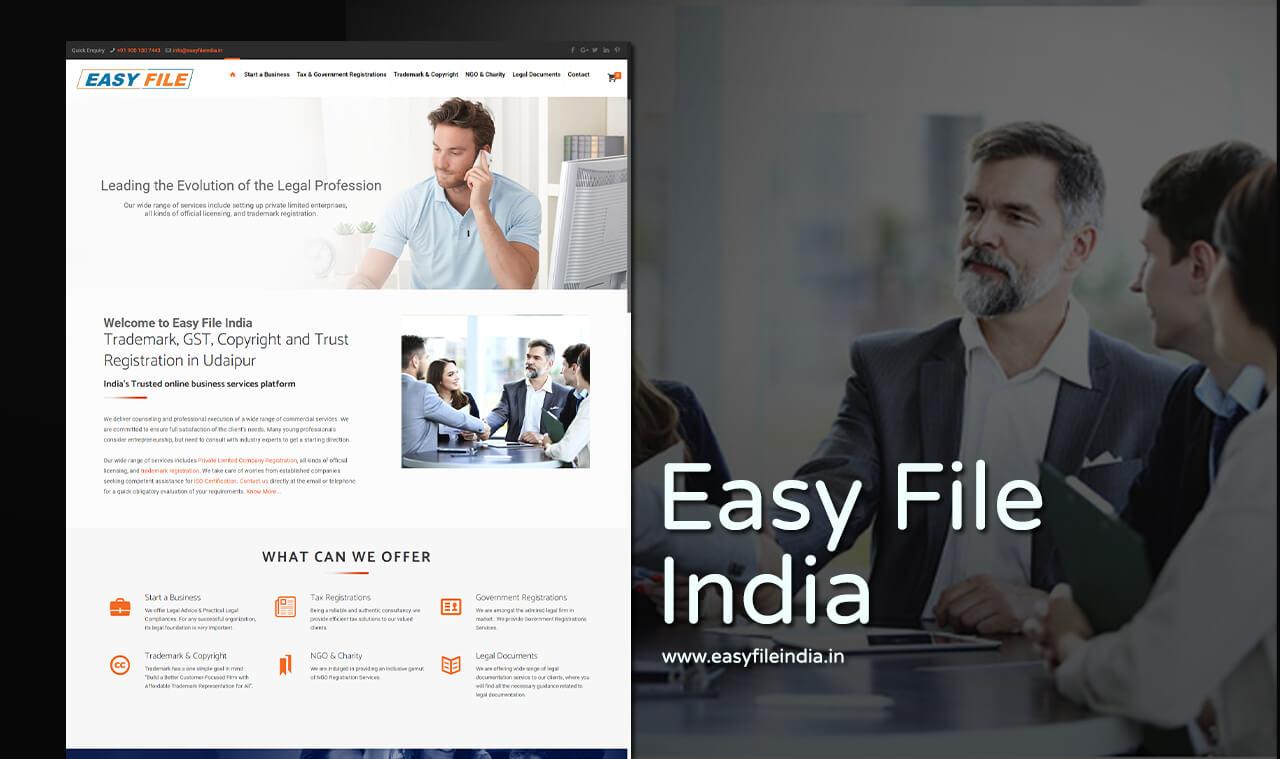 tax consultancy website design