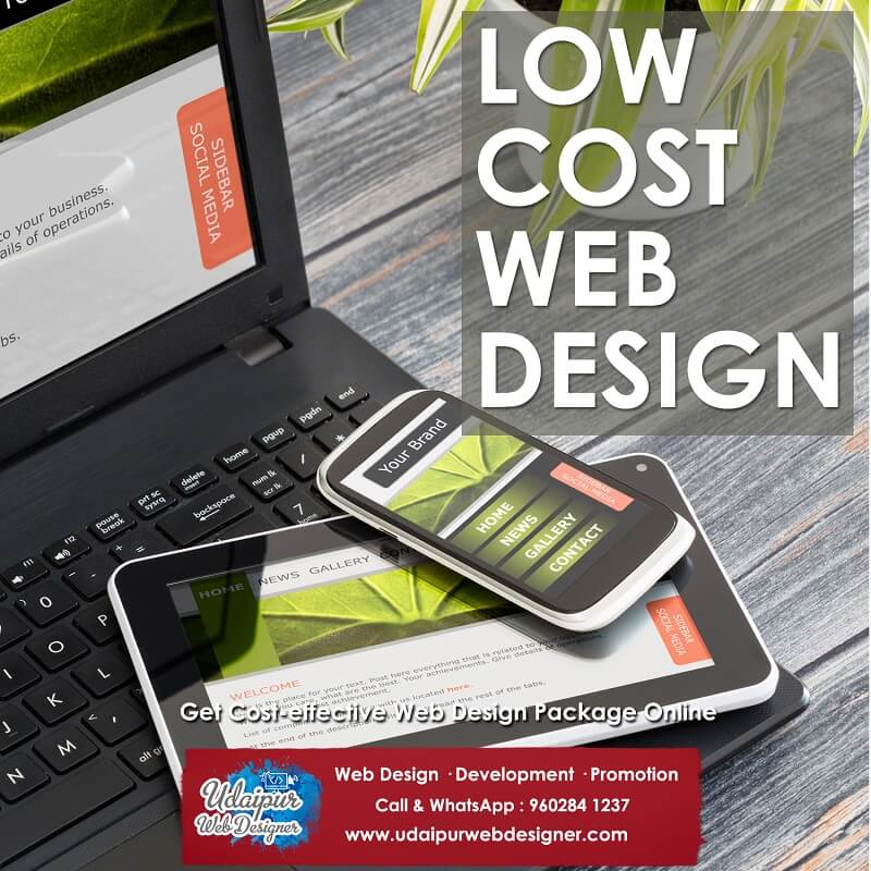 Website design cost India