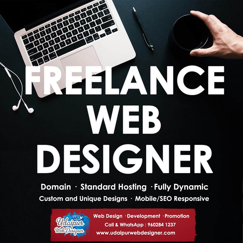Freelance website designer india