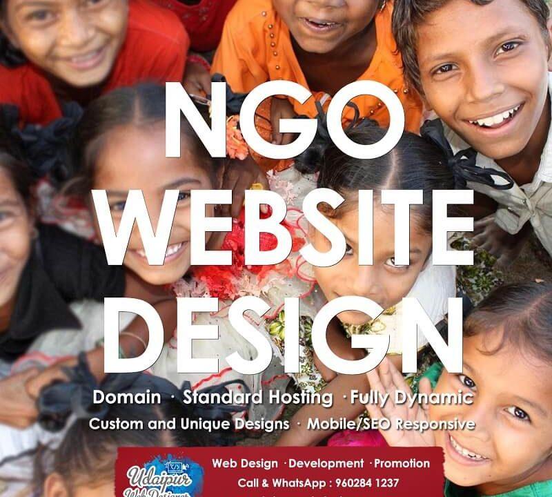 nonprofit ngo website design