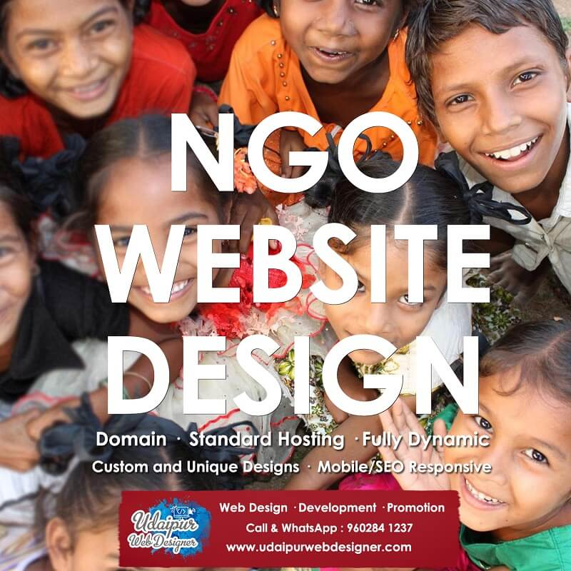 nonprofit ngo website design
